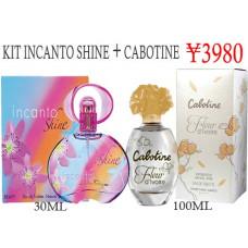 Kit Incanto Shine + Cabotine