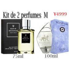 Kit de 2 perfumes M