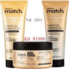 Promoção boticario fonte da hidrat. SH+CD+Mascara