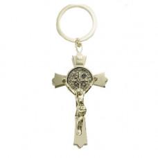 CHaveiro com pingente de crucifixo